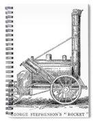 Locomotive Rocket, 1829 Spiral Notebook