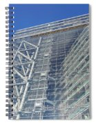Low Angle View Of An Office Building Spiral Notebook