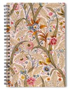 Marble End Paper  Spiral Notebook