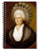 Martha Washington (1731-1802) Spiral Notebook