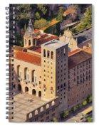 Monastery In Montserrat Spiral Notebook