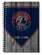 Montreal Expos Spiral Notebook