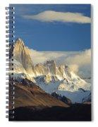 Mount Fitzroy, Argentina Spiral Notebook