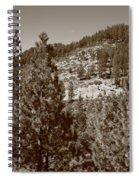 Mountainside Near Lake Tahoe Spiral Notebook