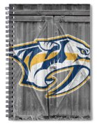 Nashville Predators Spiral Notebook