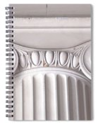 Neoclassical Ionic Architectural Details Spiral Notebook