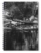 New York Adirondacks Spiral Notebook