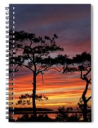 Outer Banks Sunset Spiral Notebook