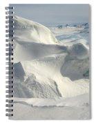 Pack Ice, Antarctica Spiral Notebook