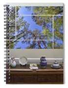5-panel - A Forest Sky Spiral Notebook