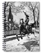 Paul Reveres Ride, 1775 Spiral Notebook