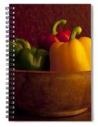 Peppers Still Life Close-up Spiral Notebook