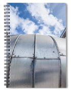 Pipes At Nesjavellir Geothermal Power Spiral Notebook