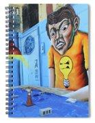 5 Pointz Graffiti Art 5 Spiral Notebook