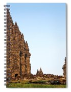 Prambanan Temple In Indonesia Spiral Notebook