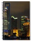 Pudong At Night Spiral Notebook