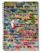 Rabba Bar Rav Hanan Spiral Notebook