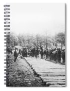 Railroad Construction Spiral Notebook