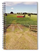 Red Barn Spiral Notebook