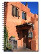 Santa Fe Adobe Building Spiral Notebook