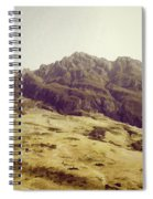 Slope Of Hills In The Scottish Highlands Spiral Notebook