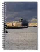 Ss Badger Spiral Notebook