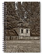 5 Star Barn Monochrome Spiral Notebook