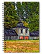 5 Star Barn Paint Filter Spiral Notebook