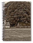 5 Star Barns Monochrome Spiral Notebook
