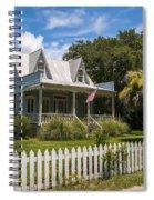 Sullivan's Island Tin Roof Story Book Cottage Spiral Notebook