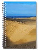 Sunrise At Oceano Sand Dunes Spiral Notebook