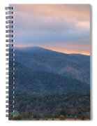 Sunrise In Cades Cove Spiral Notebook