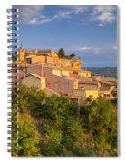 Sunrise Over Roussillon Spiral Notebook