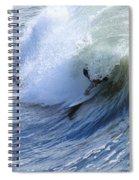 Surfer Spiral Notebook