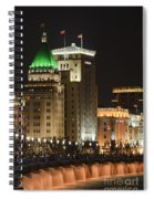 The Bund, Shanghai Spiral Notebook