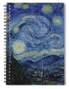The Starry Night Spiral Notebook