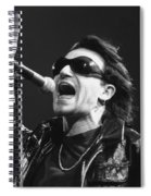 U2 - Bono Spiral Notebook