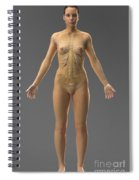 Urinary System Female Spiral Notebook