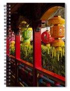Vietnamese Temple Spiral Notebook
