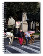 Views From Sorrento Italy Spiral Notebook