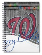 Washington Nationals Spiral Notebook
