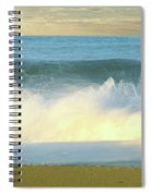 Waves Breaking On The Beach, Playa La Spiral Notebook