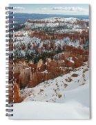 Winter Scene, Bryce Canyon National Park Spiral Notebook
