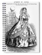 Women's Fashion, 1860 Spiral Notebook