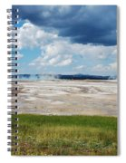 Yellowstone Spiral Notebook