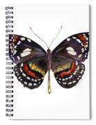 50 Elzunia Bonplandii Butterfly Spiral Notebook