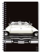 50s Ford Fairlane Convertible Spiral Notebook