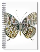 51 Lang's Short-tailed Blue Butterfly Spiral Notebook