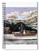 North To Alaska On A 53 Foot Classic Yacht  Spiral Notebook