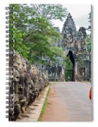 54 Gods And A Monk Spiral Notebook